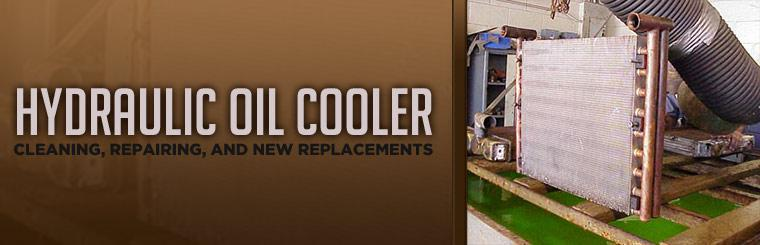 We offer Hydraulic oil cooler cleaning, repairing, and new replacements!
