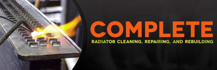 We offer complete radiator cleaning, repairing, and rebuilding!