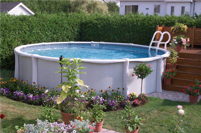 Above ground pool faq pool works inc de pere wi 800 for Top of the line above ground pools