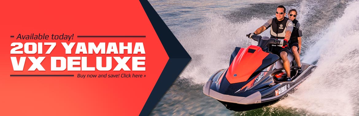 The 2017 Yamaha VX Deluxe is available today! Buy now and save!