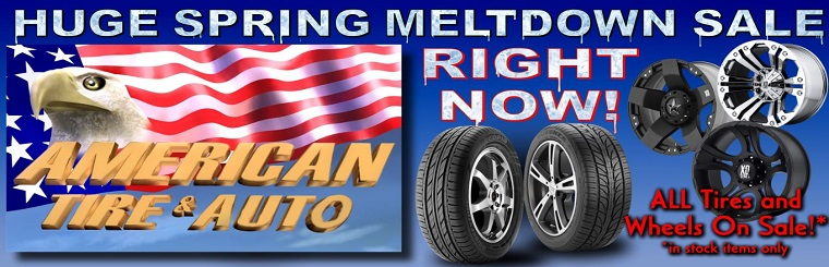 American Tire - Spring Meltdown Sale