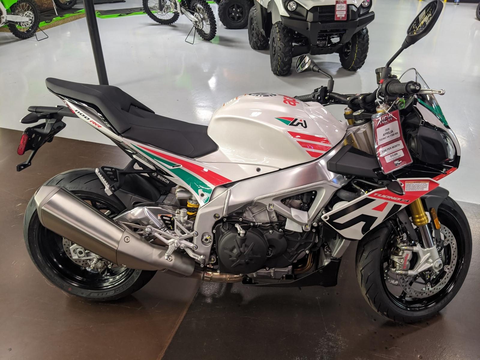 2020 Aprilia Tuono V4 1100 Rr Misano Limited Edition For Sale In Westerville Oh Pony Powersports Columbus Westerville Oh 614 212 7888