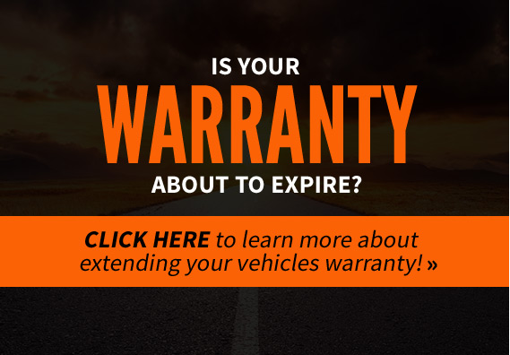 Is your warranty about to expire? Click on the here to learn more about extending your vehicle's warranty!