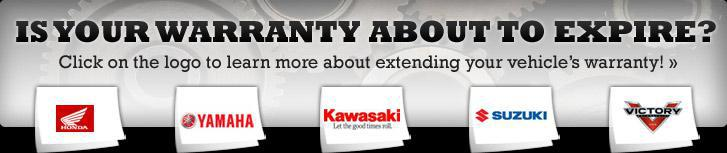 Is your warranty about to expire? Click on the logo to learn more about extending your vehicle's warranty!
