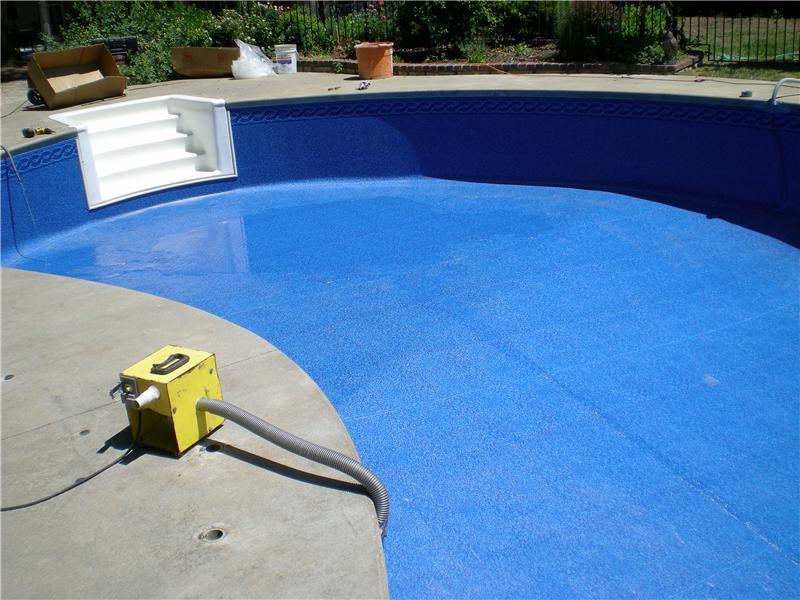 Pool Liner Renovation Leisure World Pool Amp Hearth Inc