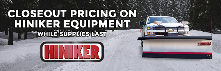 Hiniker Closeout Sale All Products Must Go