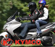 New Kymco Motorcycle