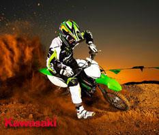 New Kawasaki Dirt Bike