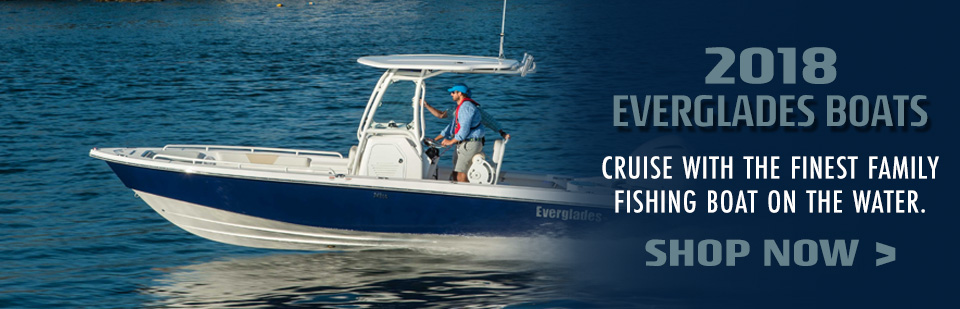 Shop 2018 Everglade Boats