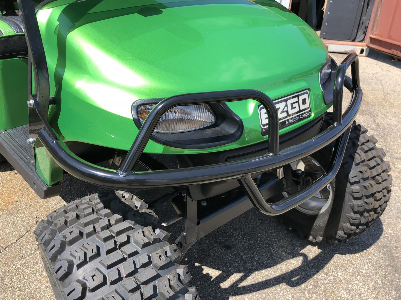 BLACK BRUSH GUARD FOR EZGO TXT  2014+