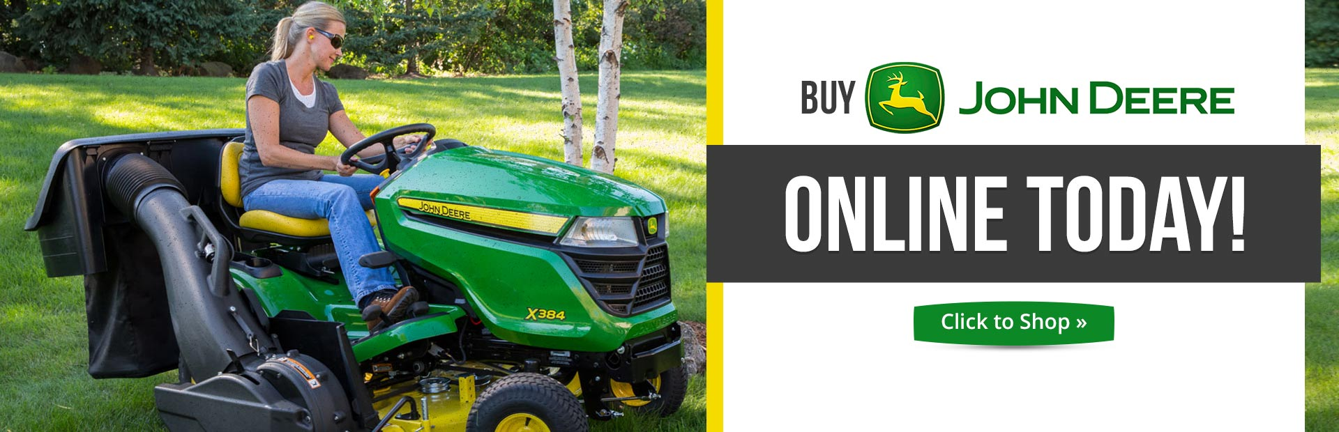 Buy John Deere online today!