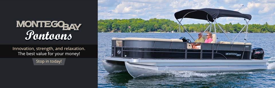 Montego Bay Pontoons: Click here to view the models.