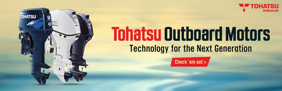 Tohatsu Outboard Motors: Click here to view the models.
