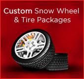 Custom Snow Wheel and Tire Packages