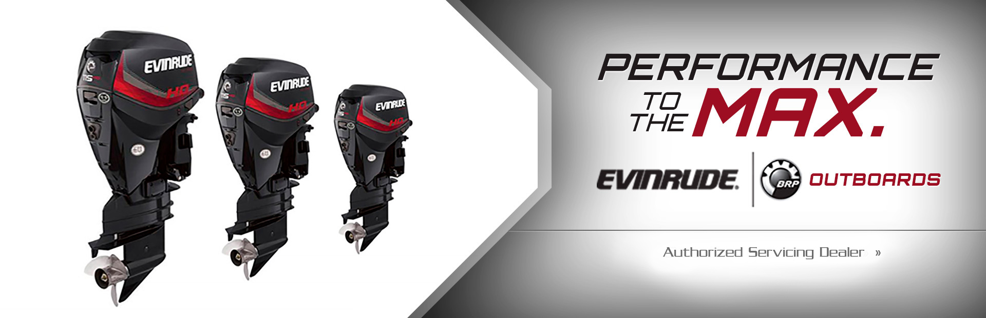Evinrude Outboards. Performance to the max! Click here to find out more!