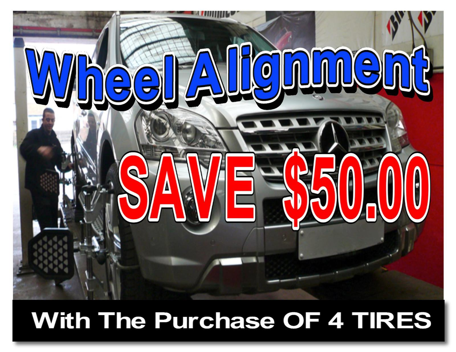 NEW Wheel Alignment