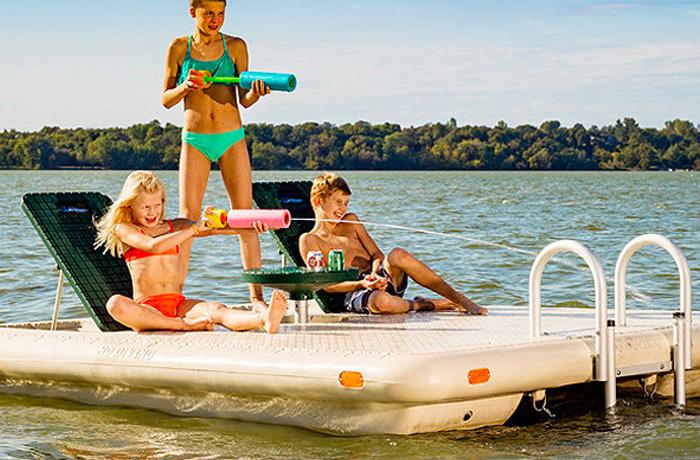 Otter Island Rafts