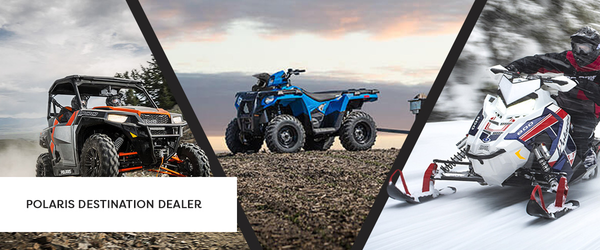 We're your One-Stop Polaris Shop.