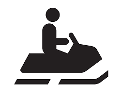 Snowmobile rental in Hayward, WI
