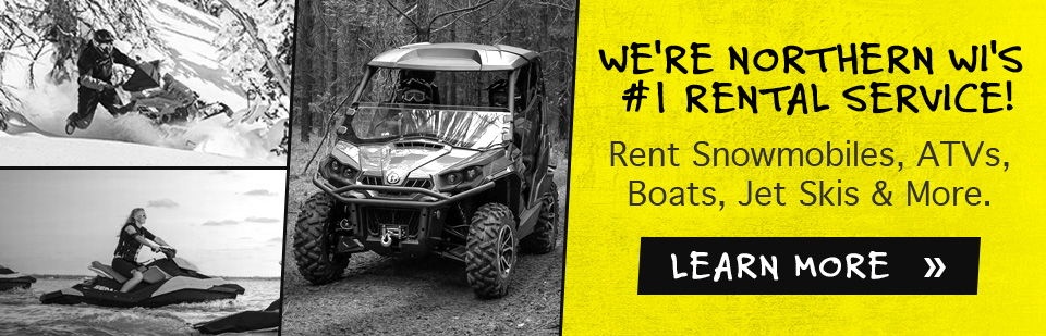 Pontoon Rentals in Hayward, WI