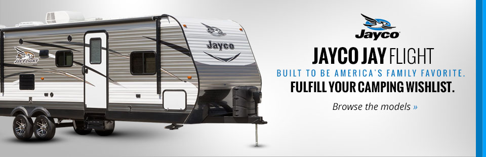 Jayco Jay Flight: Click here to view the models.