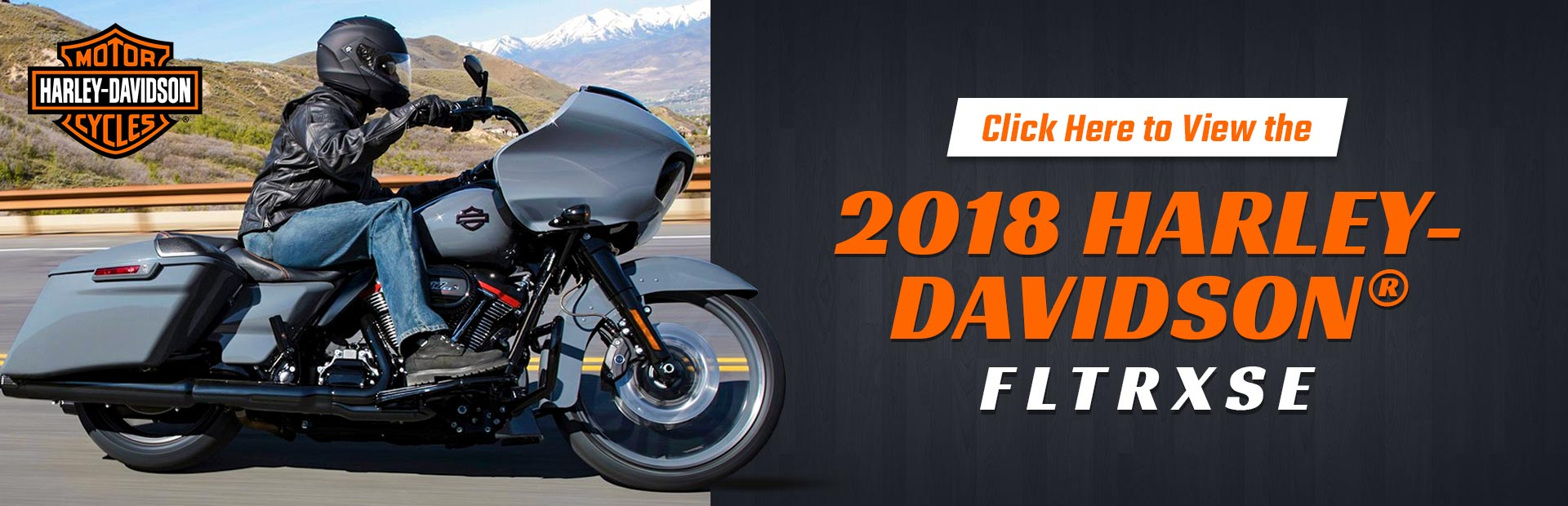 Click here to view the 2018 Harley-Davidson® FLTRXSE.