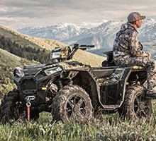 Shop Morgan Valley's selection of Polaris Mud and Sport ATV today!