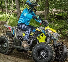 Shop Morgan Valley's selection of Polaris Youth ATV today!