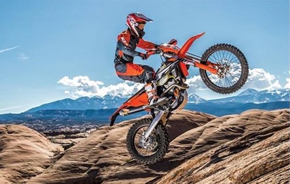 KTM Enduro Dirt Bike