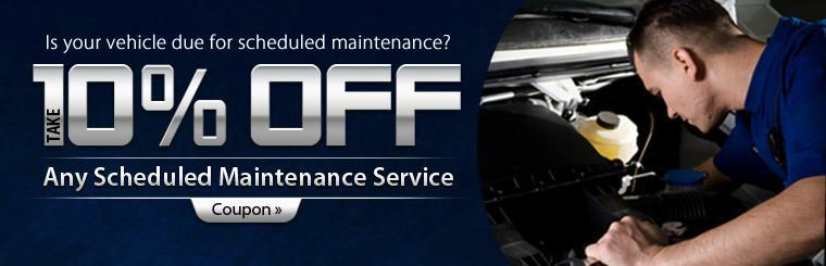 Click here to save 10% on any scheduled maintenance service.