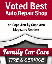 Voted Best Auto Repair Shop on Cape Ann by Cape Ann Magazine Readers