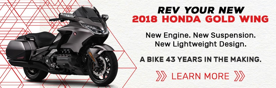 Shop Now For Your 2018 Honda Gold Wing!