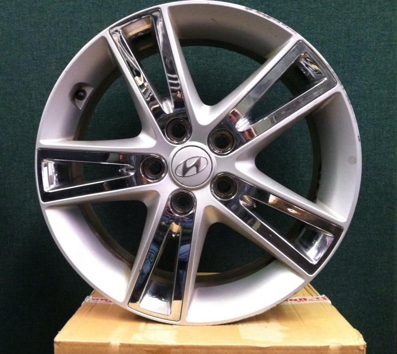 Used Wheels For Sale >> Used Wheels Hyundai Elantra Aluminum Split 5 Spoke W Chrome