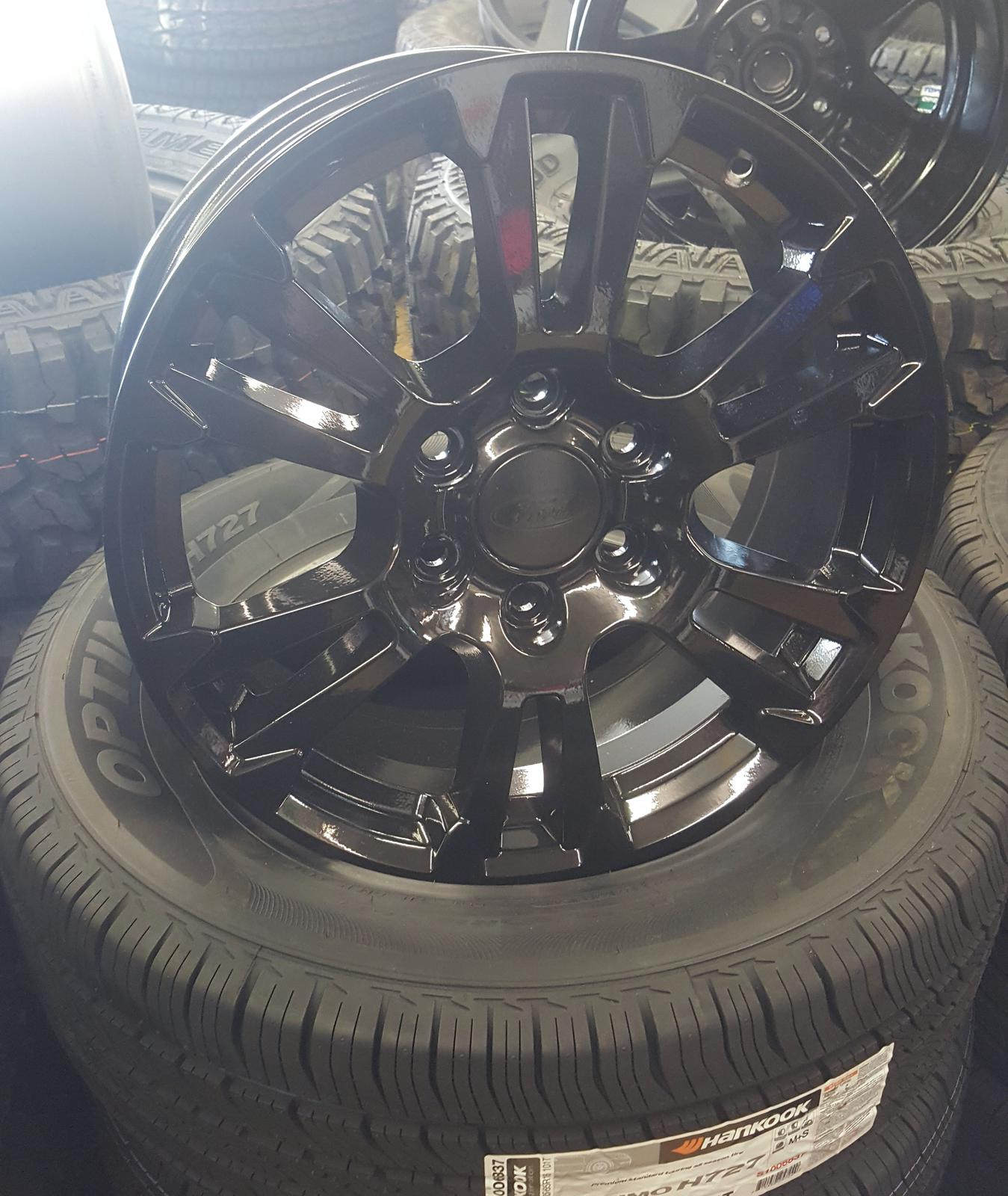 Ford F  Oe Aluminum Wheel Xmm X Bolt Pattern Gloss Black Split  Spoke Wheel Condition Reconditioned
