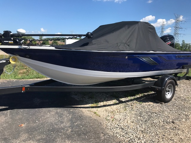 2020 Crestliner boat for sale, model of the boat is 1750 Fish Hawk Walk-through & Image # 1 of 25