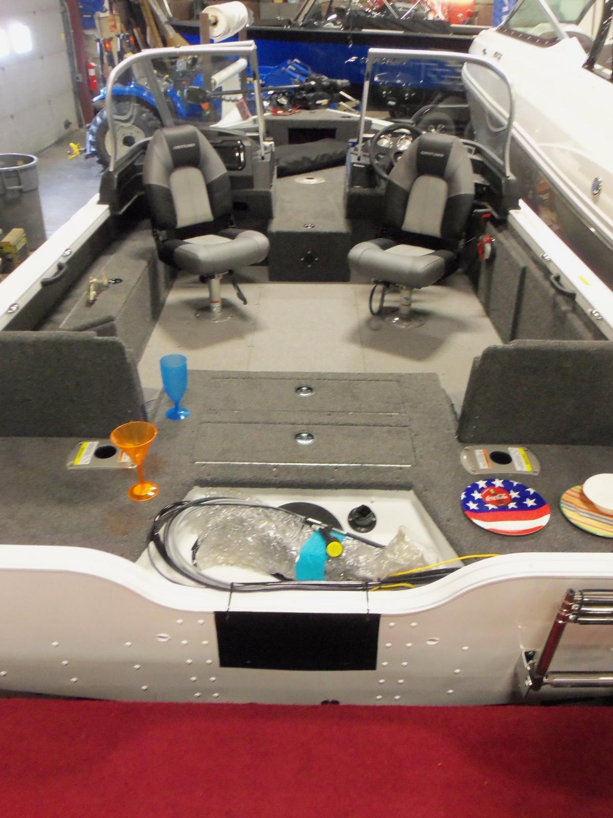 2020 Crestliner boat for sale, model of the boat is 1850 Fish Hawk Walk-through JS & Image # 7 of 28