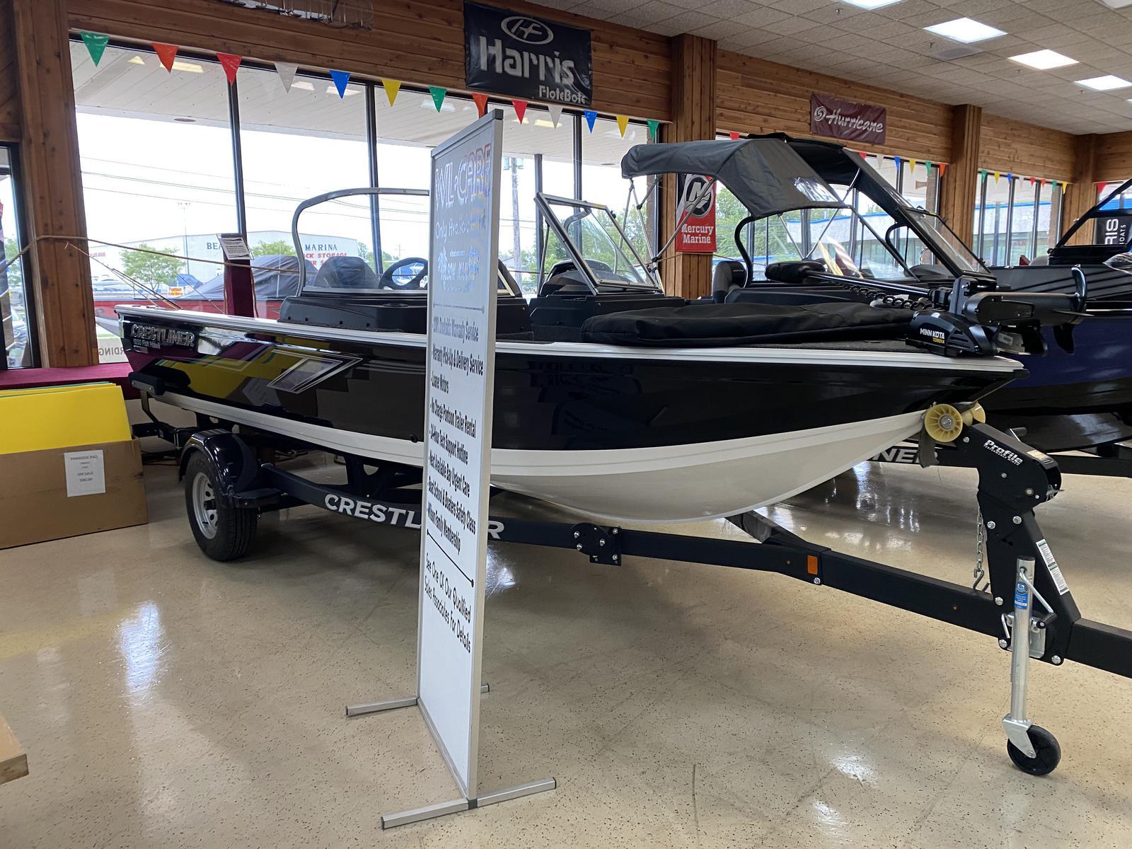 2020 Crestliner boat for sale, model of the boat is 1850 Fish Hawk Walk-through JS & Image # 1 of 28