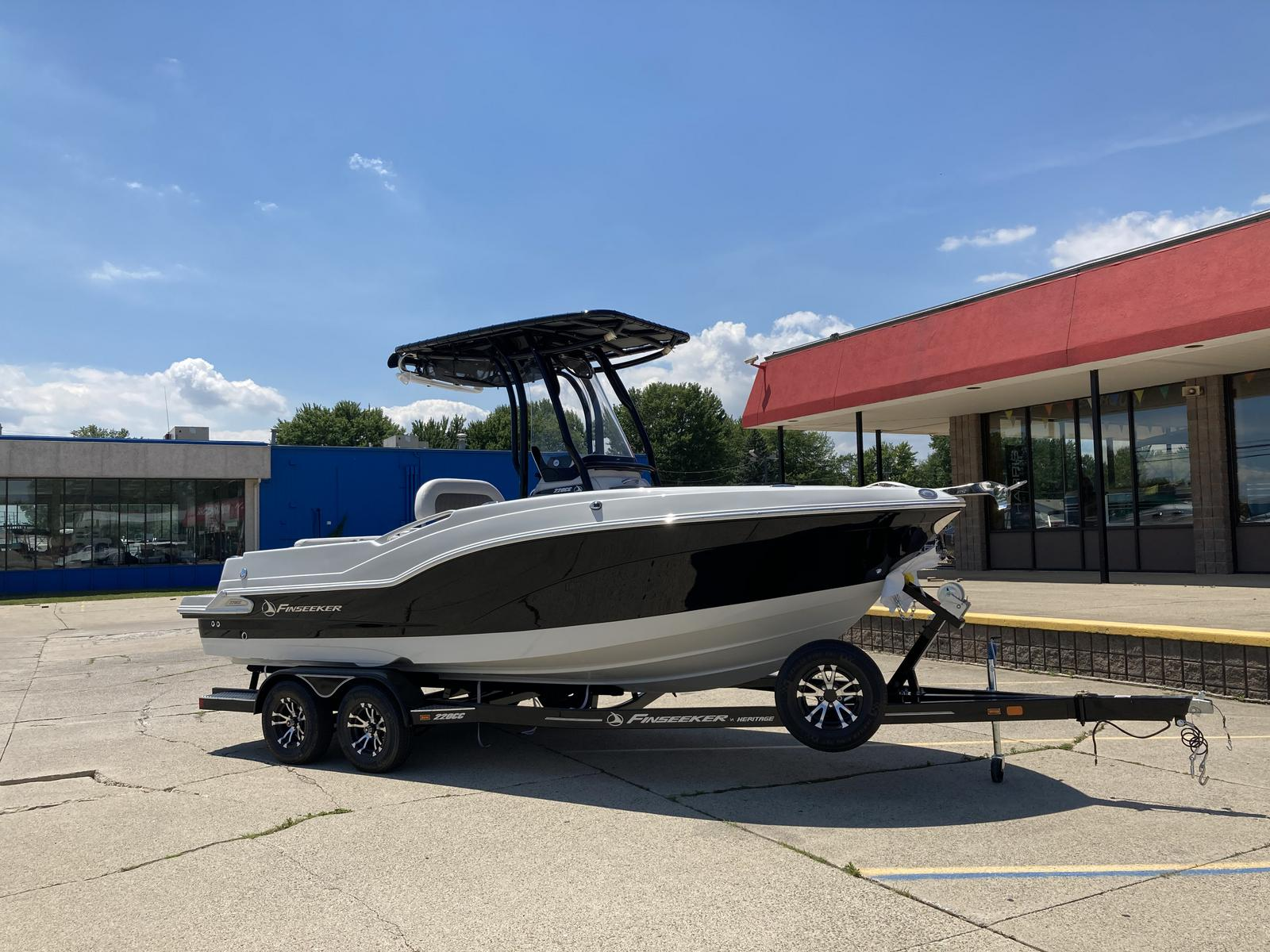 2021 Finseeker boat for sale, model of the boat is 220 Center Console & Image # 5 of 8