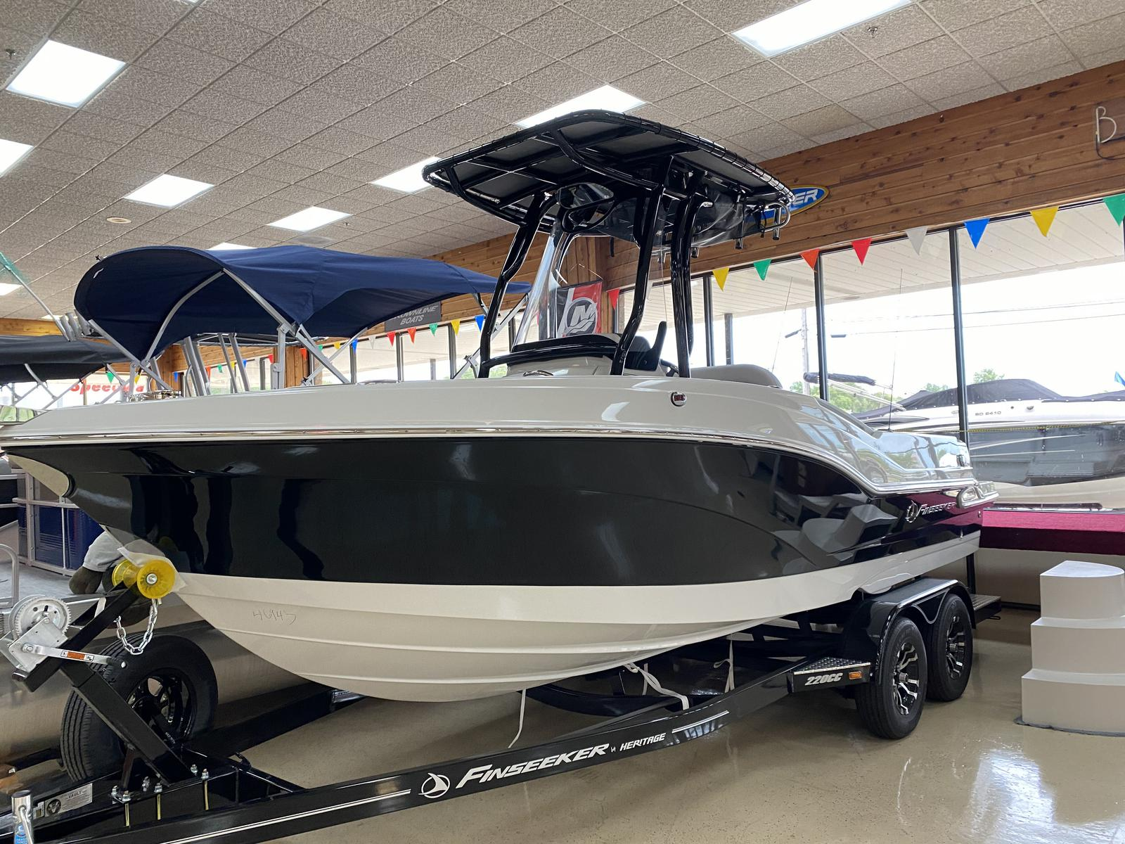 2021 Finseeker boat for sale, model of the boat is 220 Center Console & Image # 1 of 8