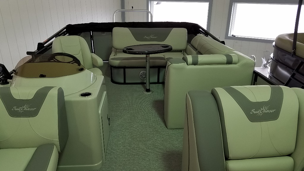 2020 SunChaser boat for sale, model of the boat is Geneva Cruise 22 SB & Image # 4 of 12