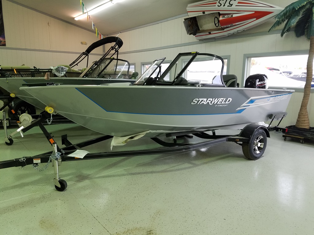 2021 Starweld boat for sale, model of the boat is Fusion 16 DC & Image # 1 of 5
