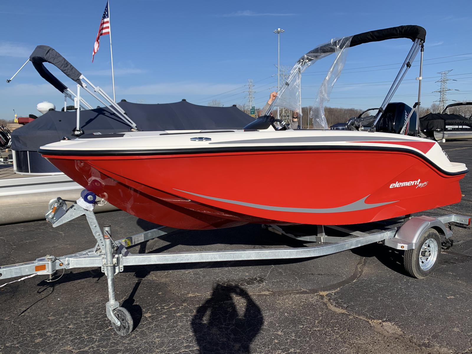 2021 Bayliner boat for sale, model of the boat is M-15 & Image # 1 of 11