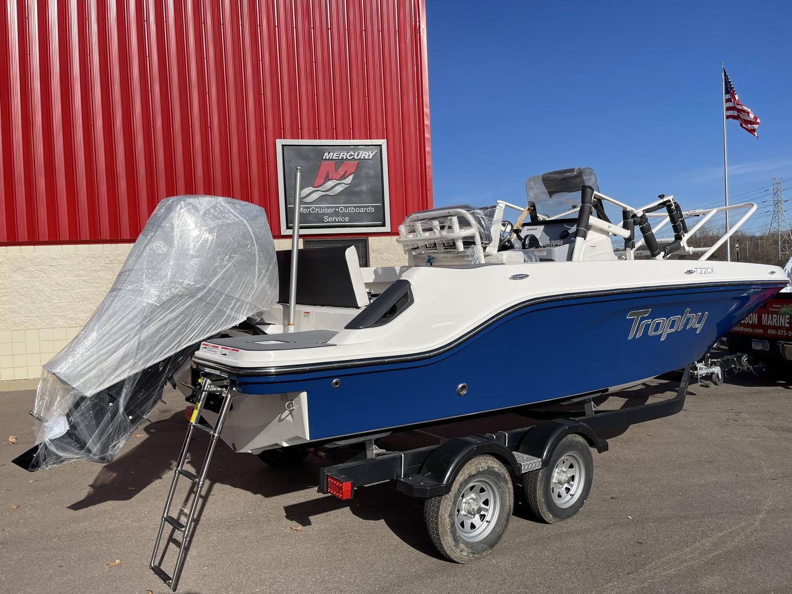 2021 Bayliner boat for sale, model of the boat is T22CX & Image # 11 of 17