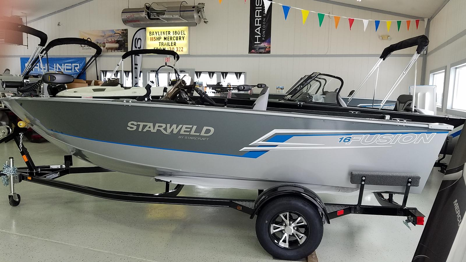 2021 Starweld boat for sale, model of the boat is Fusion 16 SC & Image # 1 of 9