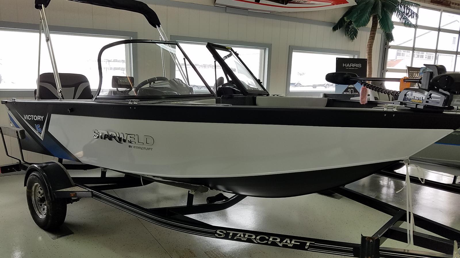 2021 Starweld boat for sale, model of the boat is Victory 16 DC & Image # 1 of 8