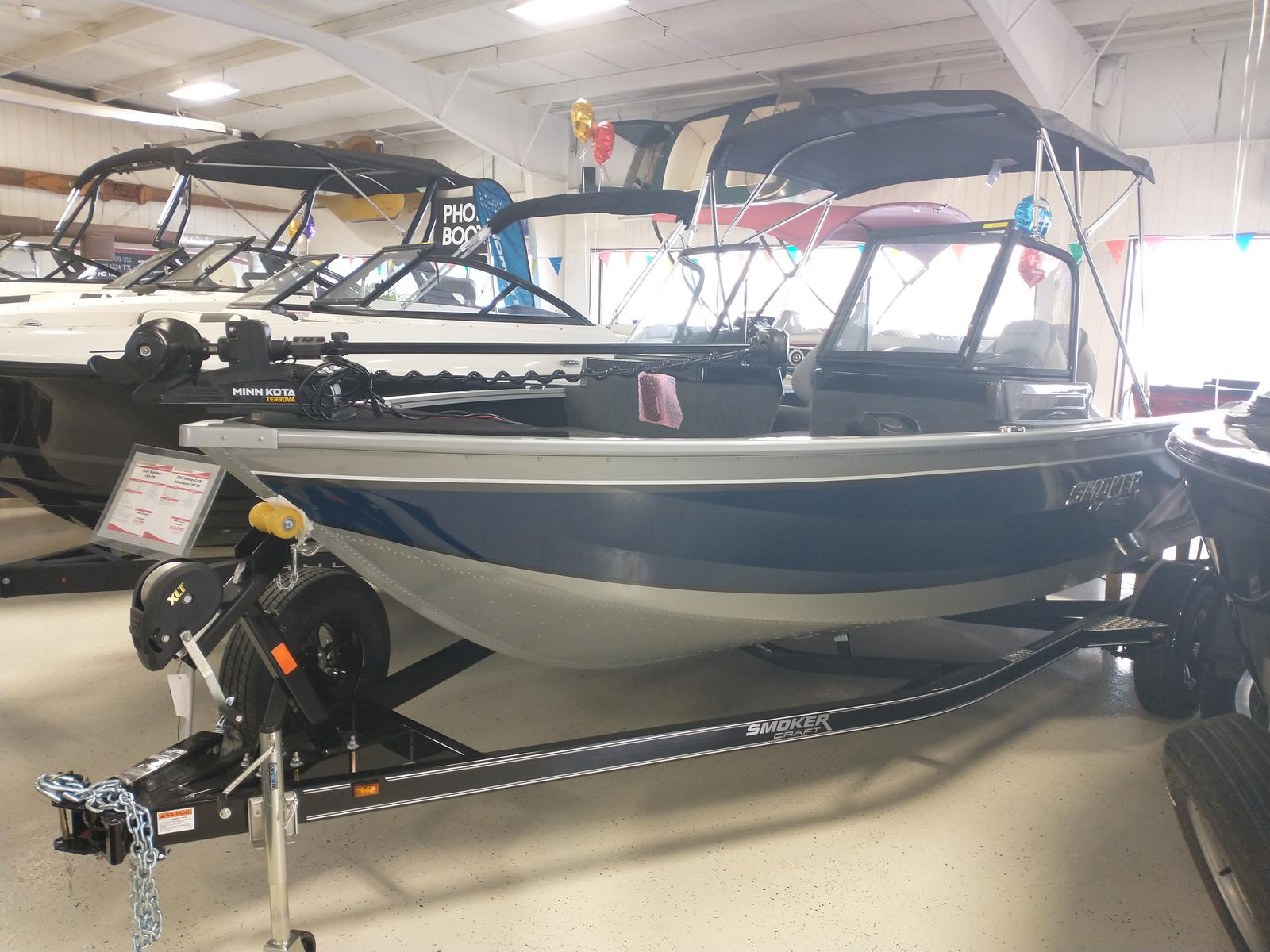 2021 Smoker Craft boat for sale, model of the boat is Adventurer 188 DC & Image # 1 of 23