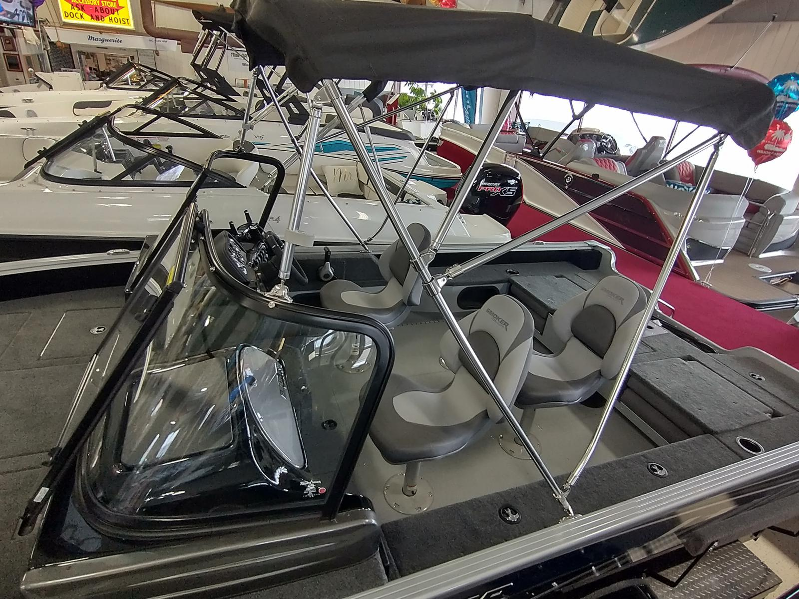 2021 Smoker Craft boat for sale, model of the boat is Adventurer 188 DC & Image # 3 of 23