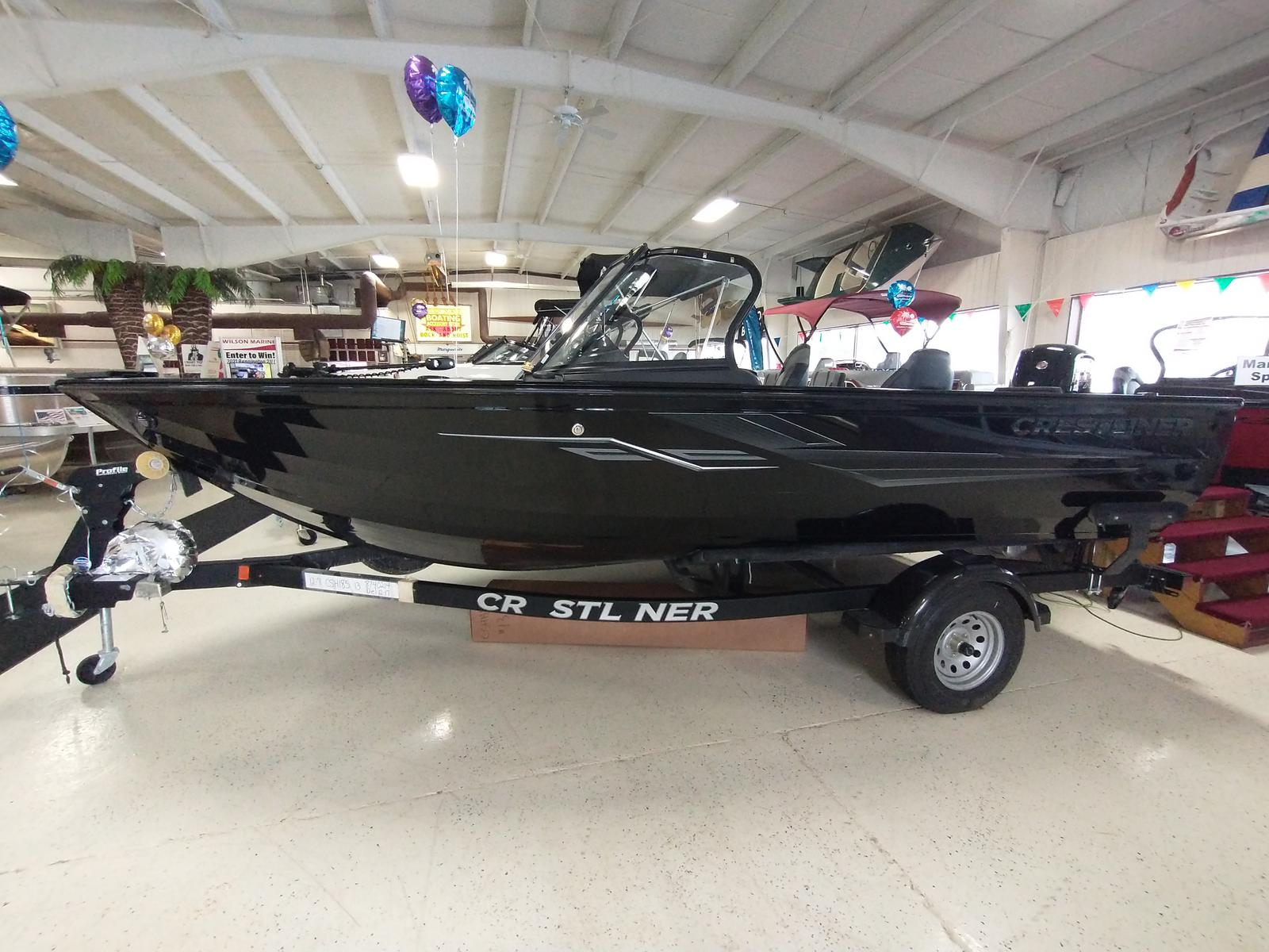 2021 Crestliner boat for sale, model of the boat is 1850 Super Hawk & Image # 1 of 30
