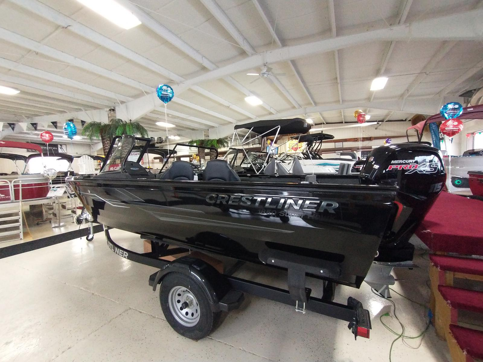 2021 Crestliner boat for sale, model of the boat is 1850 Super Hawk & Image # 2 of 30