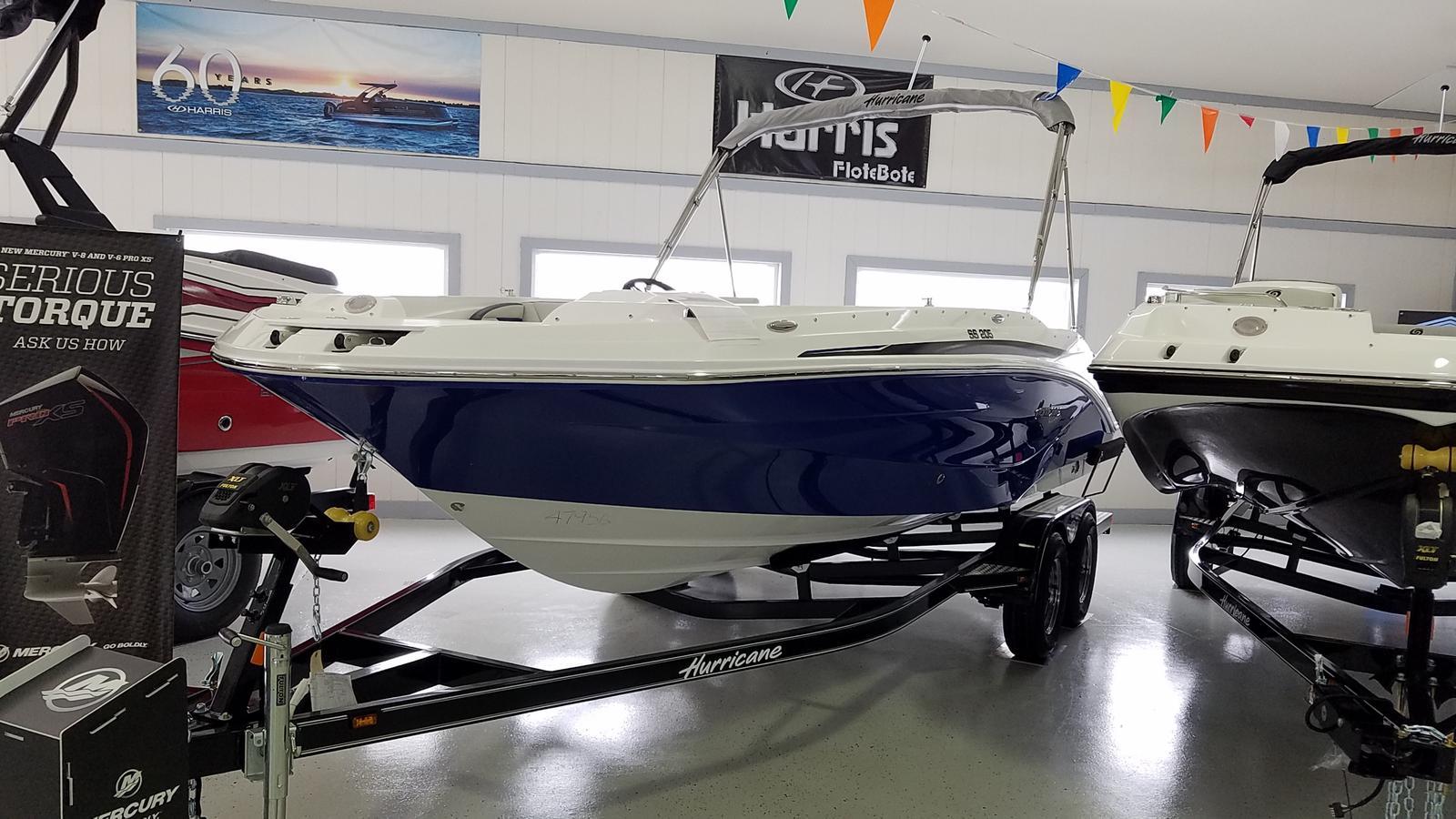 2021 Hurricane boat for sale, model of the boat is SunDeck Sport 205 OB & Image # 1 of 9